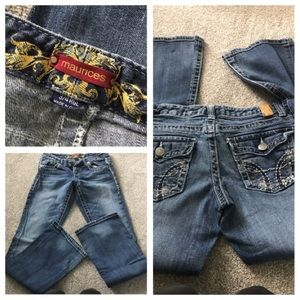 Maurices jeans 3/4 R